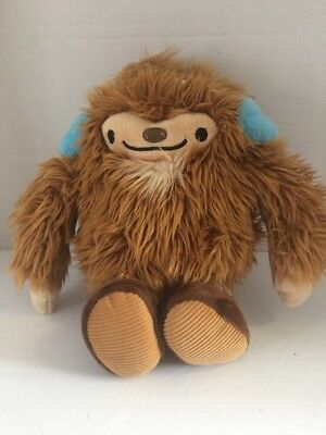 "2010 Vancouver Olympics 13"" QUATCHI Plush Toy Sasquatch Mascot Blue Ear Muffs for sale  Canada"
