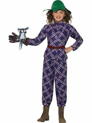 David Walliams Deluxe Awful Auntie Costume, Fancy Dress,Large Age 10-12 - Lila Fancy Dress Kostüm