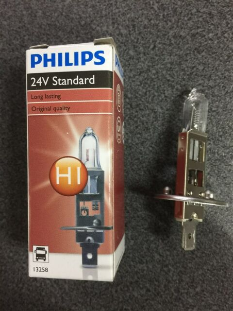 PHILLIPS H1 Globe 24V 70w pk14.5s 13258ci Genuine AU Stock