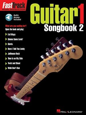 FastTrack Guitar Songbook 2 Level 1 Music Instruction Book and Audio 000695343 2 Level 1 Fast Track