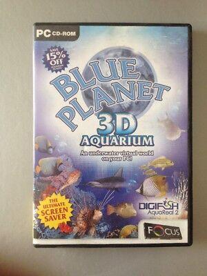 2007 Blue Planet 3D Aquarium Windows Utilities CD Rom