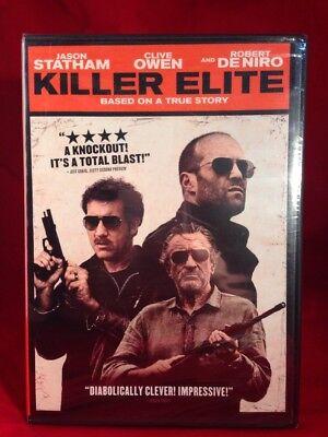Killer Elite  Dvd  Robert De Niro  Jason Statham  Clive Owen  Brand New  Sealed