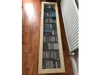 Ikea CD unit. Can be mounted to wall