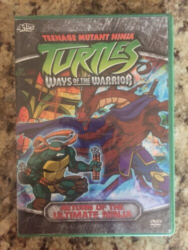 Teenage Mutant Ninja Turtles - Season 3 Vol. 3: Return of the Ultimate Ninja DVD