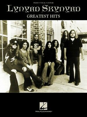 Lynyrd Skynyrd Greatest Hits Sheet Music Piano Vocal Guitar Songbook 000306686