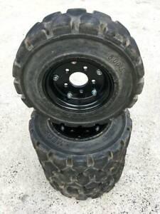 Dingo Narrow solid tyres x4 Darra Brisbane South West Preview