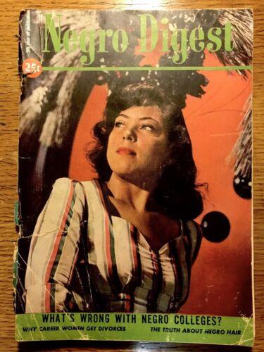 Vintage NEGRO DIGEST Magazine December 1946 Vol. V No. 2