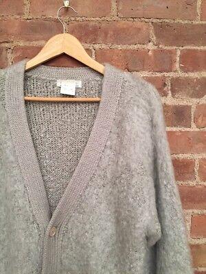 Lindbergh Mens Fuzzy Cardigan Sweater SZ-Medium, Made In Japan
