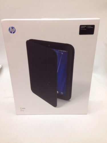 Open Hewlett Packard HP Touchpad WebOS 32 GB 1.2GHZ Glossy Black w Case Bundle