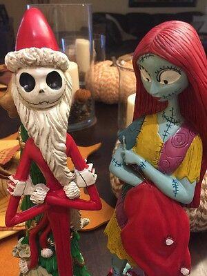 "DISNEY Nightmare Before Christmas - 12"" Jack Skellington Santa & Sally Figures"