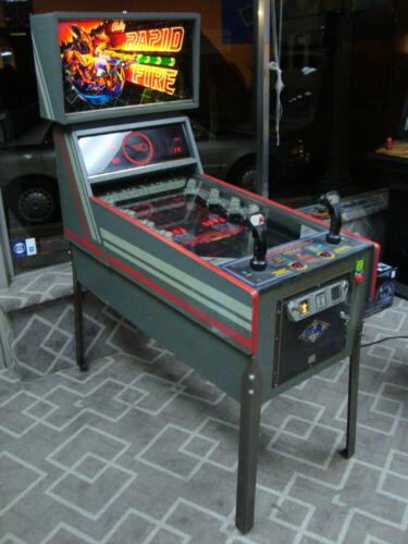 Rapid Fire Arcade Game by Bally - classic 1982 Fun!