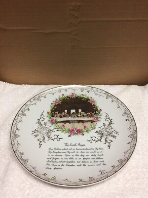 (Vintage Tilso The Lord's Prayer Collector Plate)