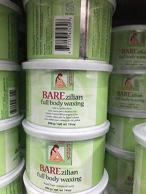 Clean + Easy Barezilian FULL BODY WAXING #47430 HARD HAIR REMOVAL WAX 14oz