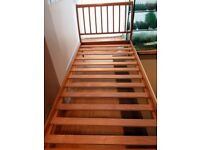 Single bed with guest bed trundle
