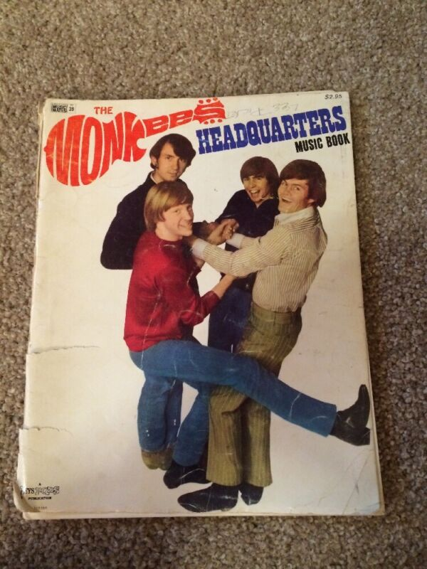 The Monkees Headquarters Music Book
