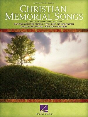 Christian Memorial Songs Sheet Music Piano Vocal Guitar SongBook NEW 000311986