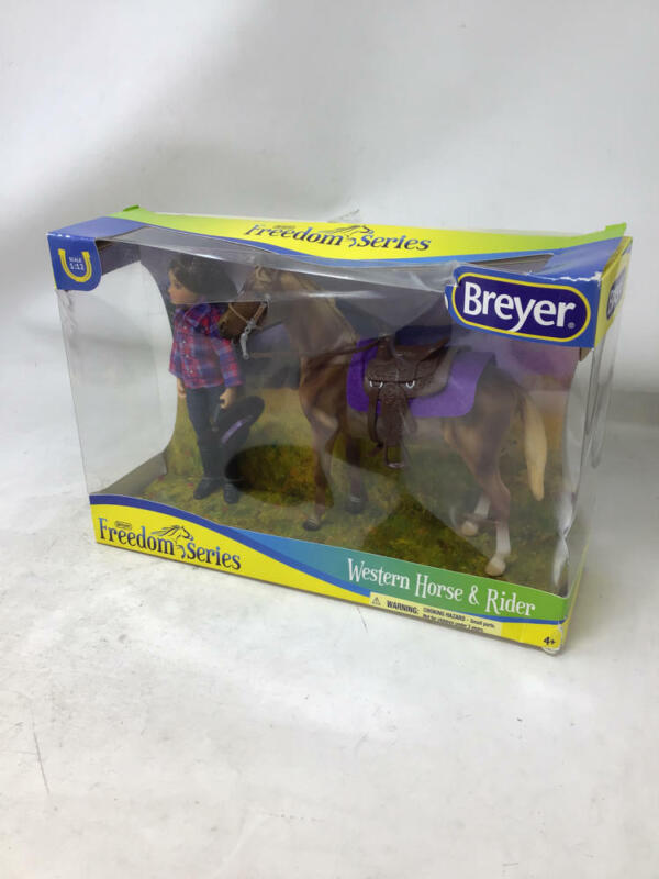 Breyer Freedom Series (Classics) Western Horse & Rider Doll Set | (1:12 Scale) |