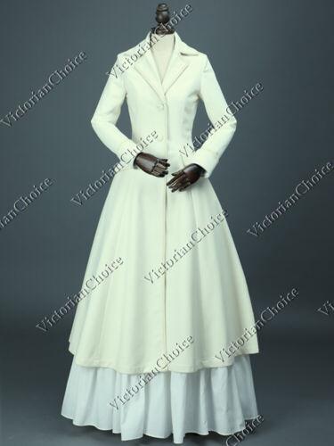Victorian Sherlock Holmes Penny Dreadful Frock Coat Dress Halloween Costume C002