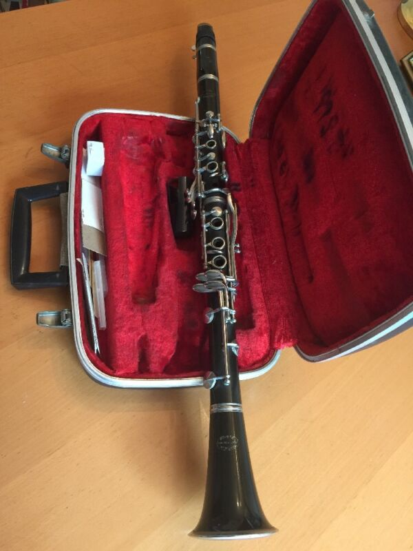Clarinet~Evette~Sponsored by Buffet~Paris France~
