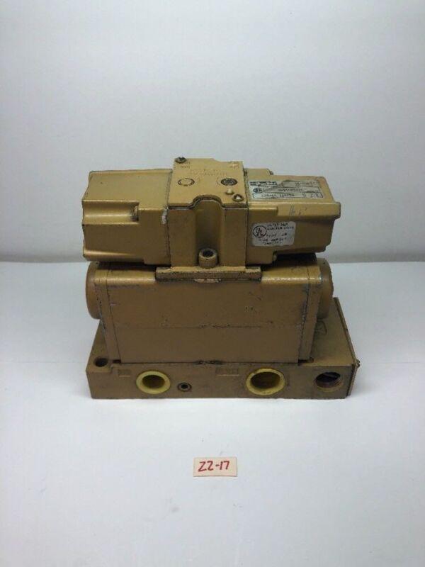 New! Parker Pneumatic Solenoid Valve HHB4005001 *Fast Shipping* Warranty!