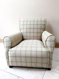 Restored Victorian club chair