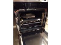 Brand new MIELE H6160B Electric Oven - CleanSteel, 76L, A class