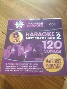 Clearance Sing To The World Karaoke Party Starter  Volume 2, 8 CD+G RRP £58.00