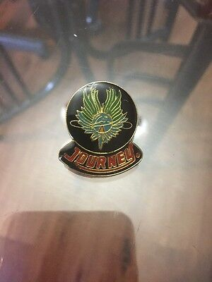 JOURNEY VINTAGE METAL LAPEL PIN NEW FROM LATE 80'S HEAVY METAL WOW