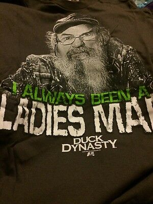 Duck Dynasty Uncle Si I Always Been A Ladies Man T Shirt Sz Small