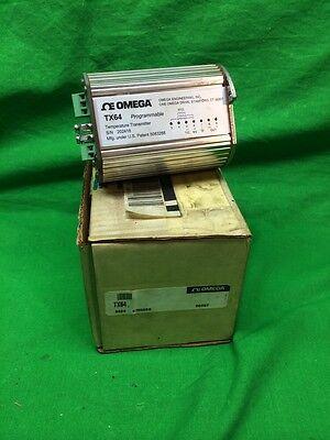 New Omega Tx64 Programmable Temperature Transmitter