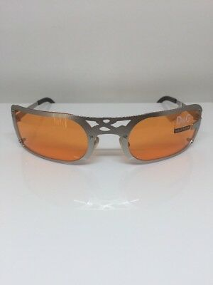 New Authentic Dolce & Gabbana Sunglasses DG 2057 C. Silver With D&G Frame Design
