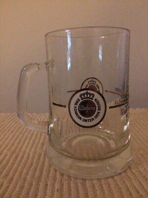 German Beer Stein WARSTEINER Eine Konigin Unter Den Bieren German ..5L Beer Mug