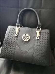 Brand New Embroided Designer Handbag