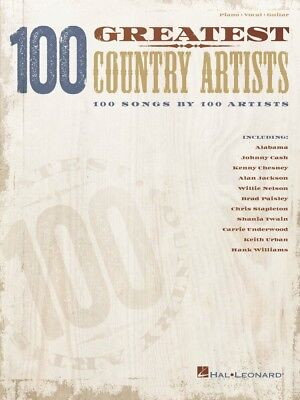 100 Greatest Country Artists Sheet Music 100 Songs 100 Artists Piano 000250372