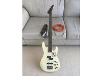 Aria Pro 2 Bass Guitar with accessories