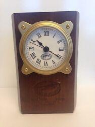 Charles Lindbergh Spirit of St. Louis Avion Quartz Clock - Rare Commemorative!