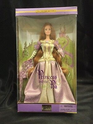 Princess and the Pea Barbie Doll 2001 Collector Edition