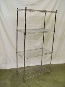 Chrome Wire Shelves, New and Used
