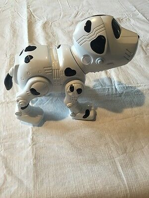 TESTED Manley Toy Quest White And Black Spotted Dog. Dalmatian Puppy.