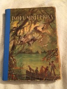 Libro-L-039-isola-Misteriosa-Di-Giulio-Verne