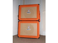 Orange CR60C 60w combo and Orange PPC112 1x12 speaker cab. Excellent. Will sell separately