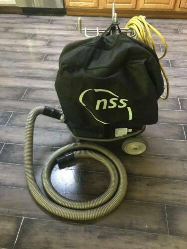 """NSS Model M-1 """"Pig"""" Portable Vacuum EUC with Accessories & Bags"""