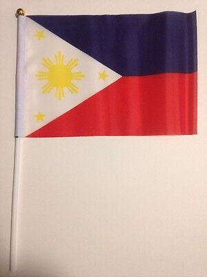 Philippines Flag On A Stick 4