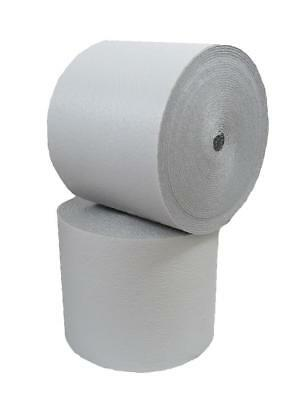 Reflective White Foam Core Radiant Barrier Thermal Insulation Roll 2x125 250 Sf