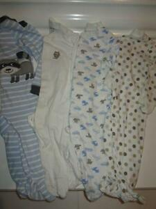 Sleeper Lot - size 12 months, Carter's and Sears