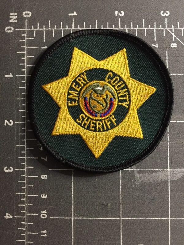 Emery County Utah UT Sheriff Police Embroidered Shoulder Patch Nick Jackson BYU