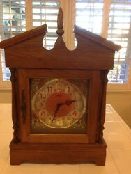 EXTRA LARGE GERMAN FRANZ HERMLE MANTEL CLOCK. ANN MODEL WITH WESTMINSTER CHIME