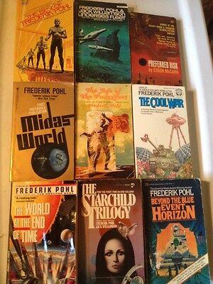9 Frederik Pohl Sci Fi Lot PBs Best, Starchild Trilogy, with Jack (Best Sci Fi Trilogies)