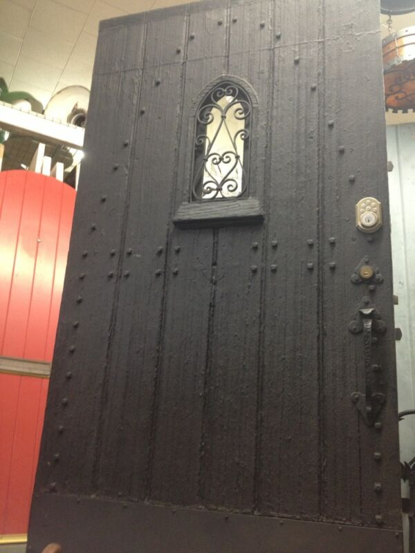Rare Spanish Revival Door With Hardware