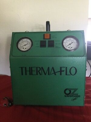 American Thermaflo Corp Oz Saver 4000 Refrigerant Reclaim Machine